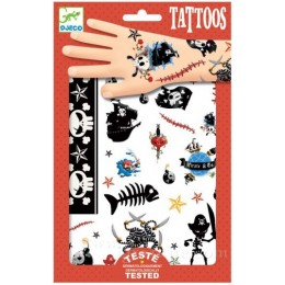 DJECO 09584 Tatuaże - Piraci