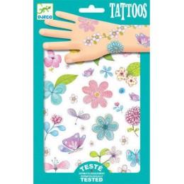 DJECO 09585 Tatuaże - Kwiaty