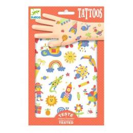 DJECO - Tatuaże dla dzieci - Słodziaki - 09589