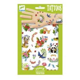 DJECO - Tatuaże dla dzieci - Wesoła wiosna - 09591