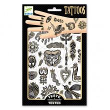 DJECO - Tatuaże metaliczne  - Złoty szyk 09595