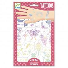 DJECO - Tatuaże dla dzieci - Talizmany 09596