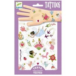 DJECO - Tatuaże dla dzieci - Przyjaciele wróżek 09599