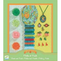 DJECO 09804 Zestaw do biżuterii - Perły i Owoce