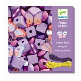 DJECO - Drewniana biżuteria - Motylki 09810