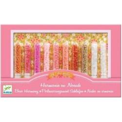 DJECO 09811 Zestaw do tworzenia Biżuterii - Kwiaty