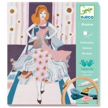 DJECO – Zestaw do wyszywania – Tydzień Mody 09845