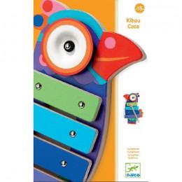 DJECO 06423 Cymbałki Rajski Ptak - Kikou Coco