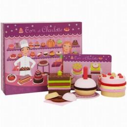 DJECO 06610 Mini Cukiernia - Zestaw do tworzenia tortów