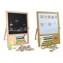 TRIBE DM331490 Wielofunkcyjna tablica edukacyjna 2w1