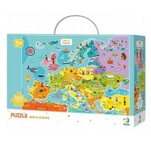 DODO – Puzzle 100 el. – Mapa Europy 300124