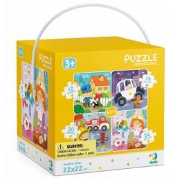 DODO – Puzzle 4w1 – Moje zawody 300131