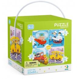 DODO – Puzzle 4w1 – Transport 300132