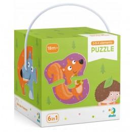 DODO – Moje pierwsze puzzle – Zwierzęta leśne 300195