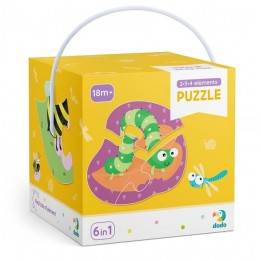 DODO – Moje pierwsze puzzle – Owady 300253