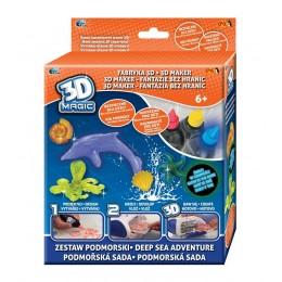 Epee 02852 Fabryka 3D Zestaw podmorski - żele i szablony