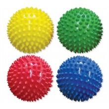 Edushape 705101 Piłki sensoryczne 10cm - cztery kolory do wyboru