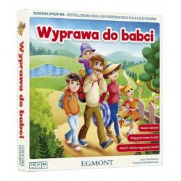 Egmont - Wyprawa do babci - Gra kooperacyjna 8956