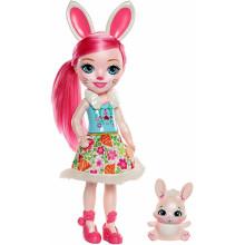 Enchantimals - Duża lalka Bree Bunny i Twist - FRH52