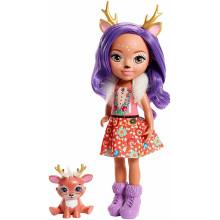 Enchantimals - Duża lalka Danessa Deer i Sprint - FRH54