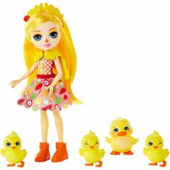 Enchantimals - Lalka Dinah Duck z kaczuszkami - GJX45