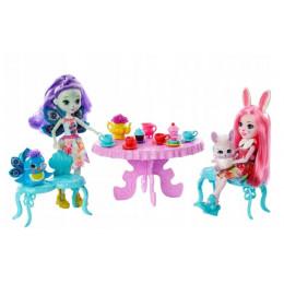 Enchantimals - Spotkanie przy herbatce – Bree Bunny i Petter Peacock – GLD41