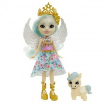 Enchantimals Royal – Lalka Paolina Pegasus i pegaz Wingley – FNH22 GYJ03