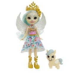 Enchantimals Royal – Lalka Paolina Pegasus i pegaz Wingley – FNH22 GYJ03