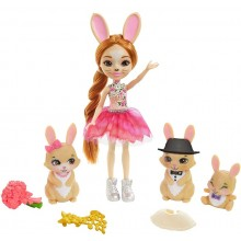 Enchantimals Royal – Rodzina króliczków – Lalka Brystal Bunny GYJ08