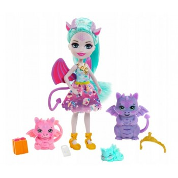 Enchantimals Royal – Rodzina smoków – Lalka Deanna Dragon GYJ09