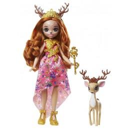 Enchantimals Royal – Lalka Queen Daviana + Grassy GYJ12