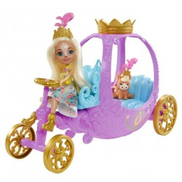 Enchantimals Royal – Królewska karoca + lalka Peola Pony GYJ16