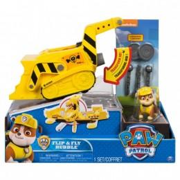Psi Patrol 6037883 Flip&Fly - Koparka i samolot 2w1 - Rubble 8698