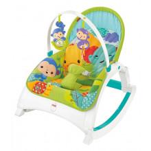 Fisher Price CMR10 Fotelik Bujaczek - Od niemowlaka do przedszkolaka