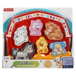 Fisher Price DLB25 Puzzle Malucha WESOŁA FARMA