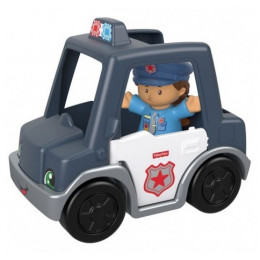 Fisher Price - Little People - Pojazd policji z figurką GKP63