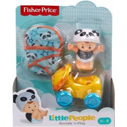 Fisher Price - Little People – Niemowlę z jeździkiem panda GNF59 GKY41