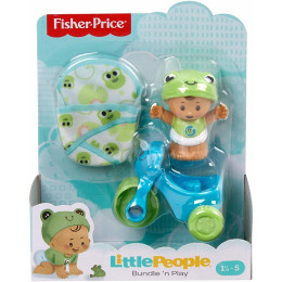 Fisher Price - Little People – Niemowlę z rowerkiem żabka GNF59 GKY42