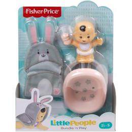 Fisher Price - Little People – Niemowlę z basenikiem królik GNF59 GKY43