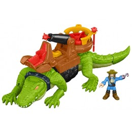 Imaginext – Kroczący krokodyl i pirat Hak DHH63