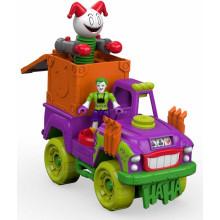 Imaginext - Niespodzianka Jokera - Pojazd z figurką - DRT58