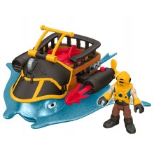 Imaginext – Statek kapitana Nemo – Płaszczka DTH43