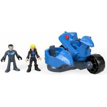 Imaginext - Nightwing i transformujący motocykl - FGV84