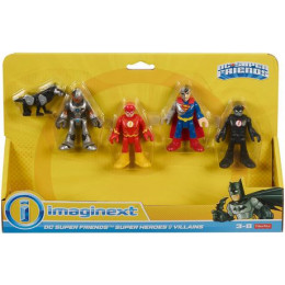 Imaginext - Bohaterowie i złoczyńcy - Superman i The Flash - FNJ21