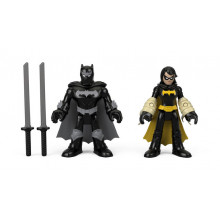Imaginext - Dwupak figurek – Black Bat i Ninja Batman – FTV07