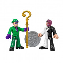 Imaginext - Dwupak figurek – The Riddle i Two-Face – GBL90