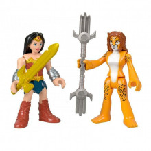 Imaginext - Dwupak figurek – Wonder Woman i Cheetah - GKJ68