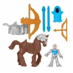 Imaginext – Szlachetny łucznik na koniu – Zestaw figurek HCG68