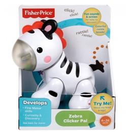 Fisher Price CGG83 Klikające Zwierzątko - Zebra