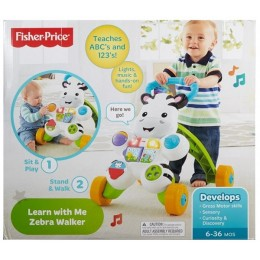 Fisher Price DPL53 Interaktywny chodzik Zebra